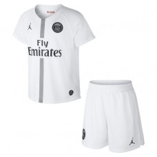 PSG JORDAN Tercer KIT 18/19 - KIDS Blanco
