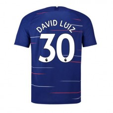 David Luiz Chelsea Home Camisa del estadio2018-19
