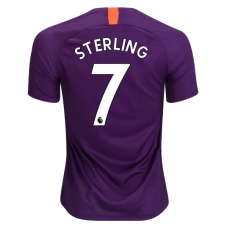 Sterling Manchester City Camiseta del tercer estadio 2018-19