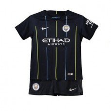 Manchester City Away Kit de estadio 2018-19 - Niños