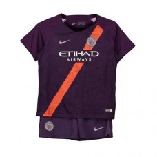 Manchester City Kit Tercer Estadio 2018-19 - Niños