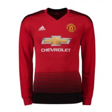 Manchester United Home Camiseta 2018-19 - Manga Larga