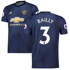 Eric Bailly Navy Manchester United 2018/19 Terce Camiseta