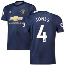Phil Jones Navy Manchester United 2018/19 Tercer Camiseta