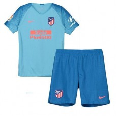 Atlético de Madrid Away Stadium Kit 2018-19 Niños