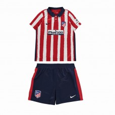 Atletico madrid home kit niños 2020 2021