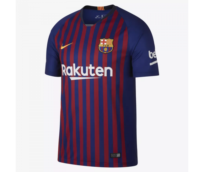 BARCELONA 2018-2019 Stadium Home Camiseta