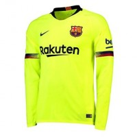 Barcelona 2018-2019 manga larga Away Camiseta