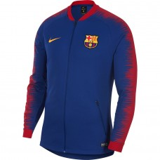 FC Barcelona 2018/19 Chaqueta Anthem Full-Zip - Azul