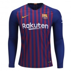 BARCELONA 2018-2019 manga larga Home Camiseta