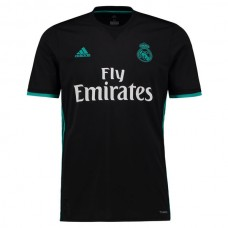 Real Madrid adidas 2017/18 Away Réplica Blanco de Camiseta -Negro