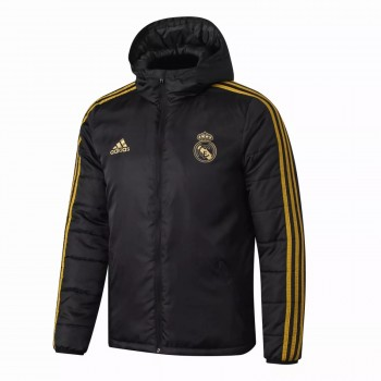 Chaqueta Real Madrid All Weather Windrunner Negra 2020 2021
