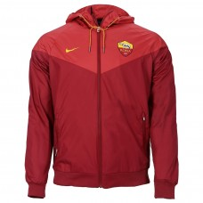 AS ROMA Rojo Windrunner Chaqueta 2018/19