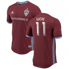 Men's Colorado Rapids Shkelzen Gashi adidas Burgundy 2018 Primary Authentic Player Camiseta