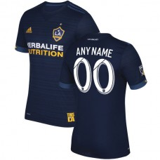 LA Galaxy adidas 2017/18 Secondary Authentic Camiseta personalizada - Azul marino