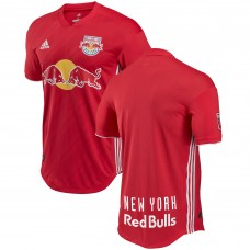 Barato Camiseta de New York Red Bulls adidas  2018 Secondary Authentic Hombre-Rojo