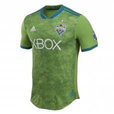 Seattle Sounders FC adidas Green 2018 Primary Authentic Custom Camiseta Hombre