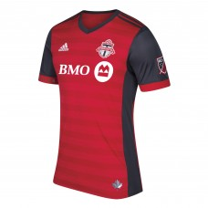 Toronto FC adidas Red 2017/18 Primary Authentic Team Camiseta Hombre