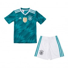 Alemania 2018 Copa del Mundo Away Kit - Niños