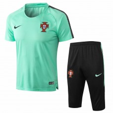 Portugal Equipo Short Green Tech Training Soccer Chándal 2018/19