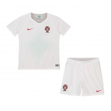 Portugal 2018 Away Kit - Niños