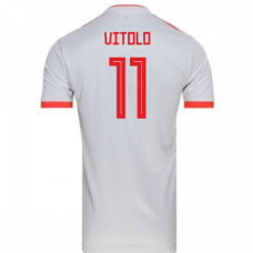 Spain 2018 Away Camiseta (Vitolo 11)