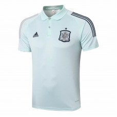 Adidas España Training Green Polo 2020
