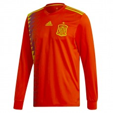 Spain 2018 Long Sleeve Home Camiseta
